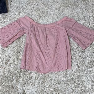 Pink Abercrombie & Fitch Blouse